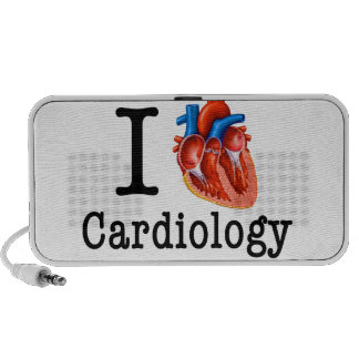 I love Cardiology Portable Speaker