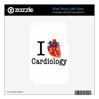 I love Cardiology Skins For iPod Touch 4G