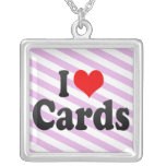 I love Cards Necklace
