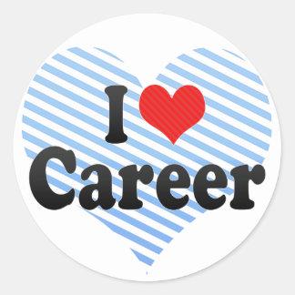 I Love Career Sticker