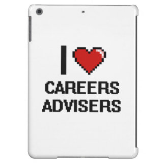 I love Careers Advisers Case For iPad Air