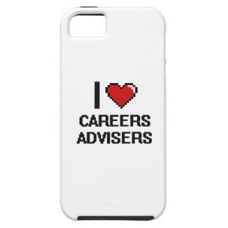 I love Careers Advisers iPhone 5 Cases