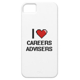 I love Careers Advisers iPhone 5 Cover