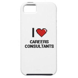 I love Careers Consultants iPhone 5 Cases