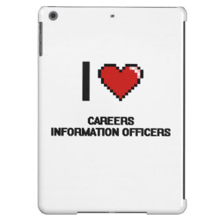 I love Careers Information Officers iPad Air Covers