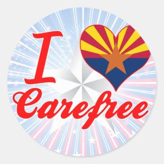 I Love Carefree, Arizona Sticker