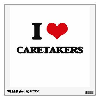 I love Caretakers Wall Decal