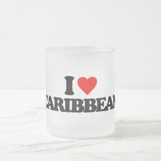 I LOVE CARIBBEAN COFFEE MUG