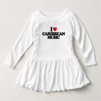 I LOVE CARIBBEAN MUSIC DRESS