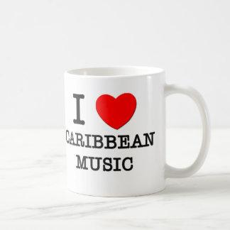 I Love Caribbean Music Mug