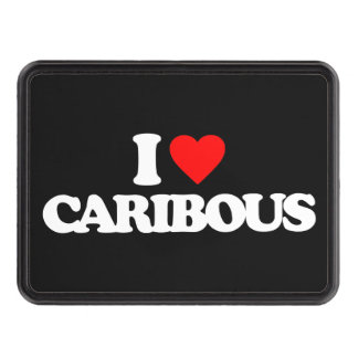 I LOVE CARIBOUS HITCH COVERS