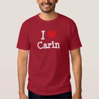 I love Carin heart T-Shirt