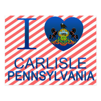 I Love Carlisle, PA Postcard