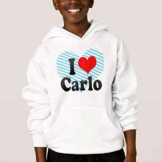 I love Carlo Hoodie