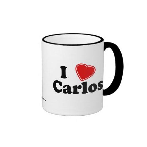 I Love Carlos Mug