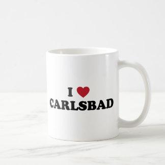 I Love Carlsbad California Classic White Coffee Mug