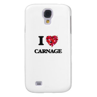 I love Carnage Samsung Galaxy S4 Covers