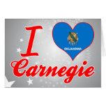 I Love Carnegie, Oklahoma Cards