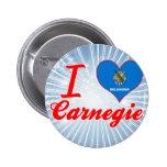 I Love Carnegie, Oklahoma Pins