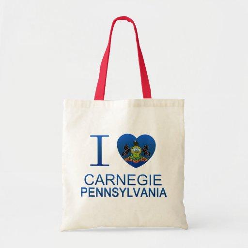I Love Carnegie, PA Bag