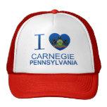 I Love Carnegie, PA Trucker Hat