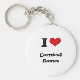 I love Carnival Games Key Chain