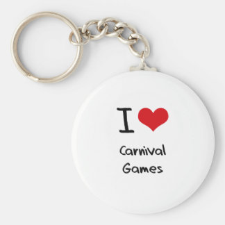 I love Carnival Games Keychains