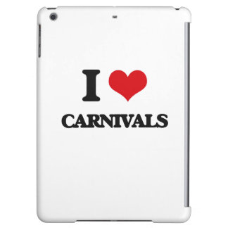 I love Carnivals Cover For iPad Air