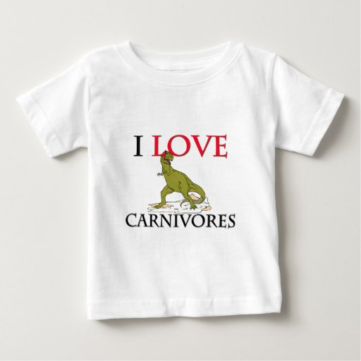 I Love Carnivores T Shirt