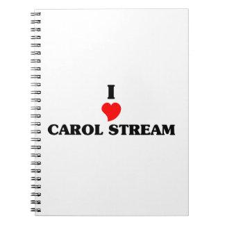 I love Carol Stream Spiral Notebooks