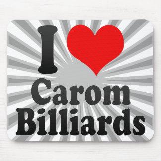 I love Carom Billiards Mouse Pad