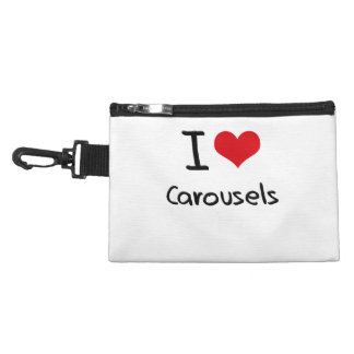 I love Carousels Accessories Bag