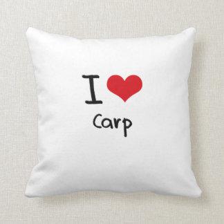 I love Carp Pillow