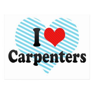 I Love Carpenters Post Cards