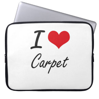 I love Carpet Artistic Design Laptop Computer Sleeve