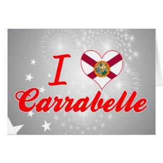 I Love Carrabelle, Florida Cards