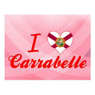 I Love Carrabelle, Florida Post Cards