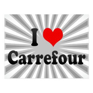 I Love Carrefour, Haiti Postcard