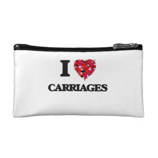 I love Carriages Makeup Bag