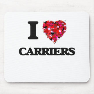 I love Carriers Mouse Pad