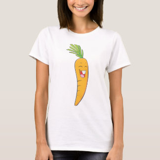 I Love Carrot - Smiling Carrot T-Shirt