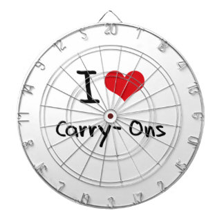 I love Carry-Ons Dartboard With Darts