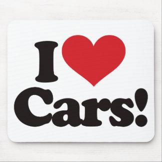 I Love Cars! Mouse Pad