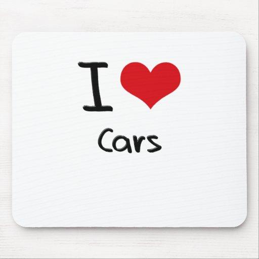 I love Cars Mouse Pad