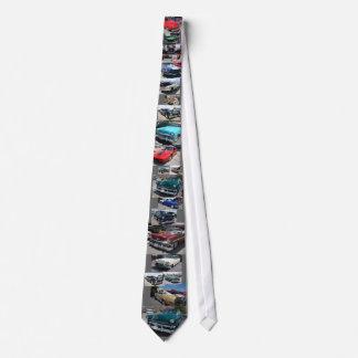 I love cars neck tie