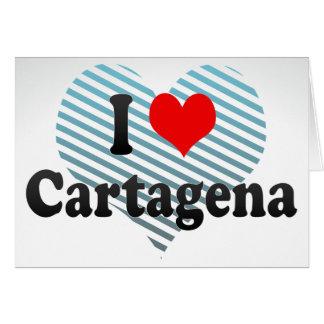 I Love Cartagena, Colombia Cards