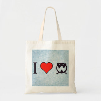 I Love Cartoons Tote Bag