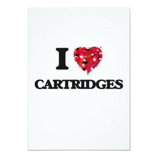 I love Cartridges 5x7 Paper Invitation Card
