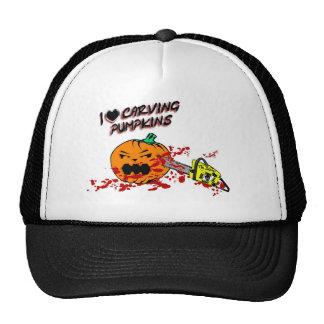 I Love Carving Pumpkins Trucker Hat