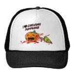 I Love Carving Pumpkins Hats